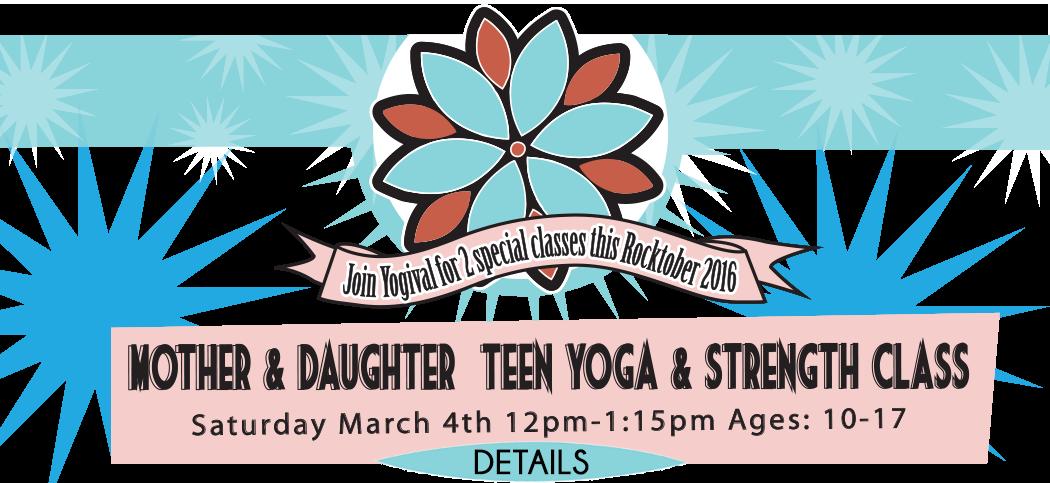 Mother Daughter Hot Yoga